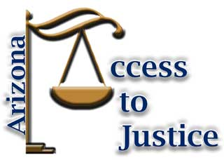 Arizona Access to Justice logo