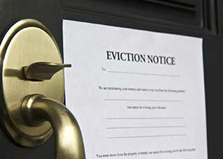 Jpg of an eviction notice